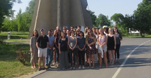 Studenti Sveučilišta U Georgiji U Područnom Centru Vukovar