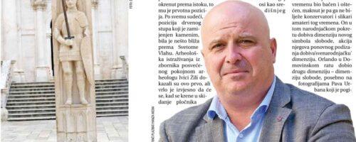 Dr. sc. Vinicije B. Lupis: Zbog Orlanda se Dubrovnik razlikuje od drugih gradova