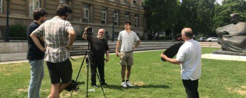 Radionica snimanja kratkih filmova u sklopu projekta CHIEF