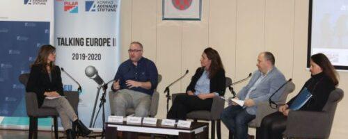 """Talking Europe II: Treća panel rasprava """"Remigracije i kružne migracije kao kohezijska strategija"""""""