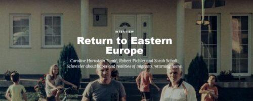 "Dr. sc. Caroline Hornstein Tomić u povodu publikacije ""Remigration to Post-Socialist Europe"""