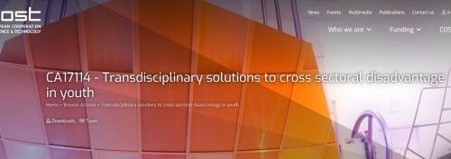 "Institut u COST akciji ""Transdisciplinary solutions to cross sectoral disadvantage in youth"""