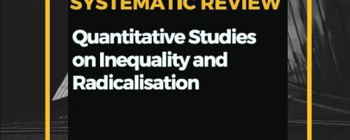 Projekt DARE: Sustavni pregled kvantitativnih istraživanja o nejednakosti i radikalizaciji