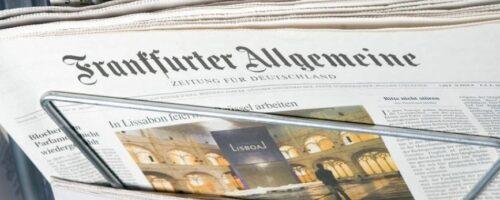Dr. sc. Caroline Hornstein-Tomić u Frankfurter Allgemeine Zeitung o migracijama i odljevu radne snage