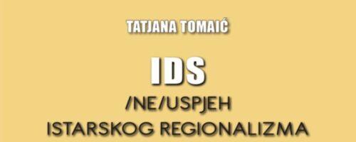 Predstavljanje knjige Tatjane Tomaić IDS - (NE)USPJEH ISTARSKOG REGIONALIZMA; Zagreb