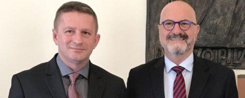 Izraelski veleposlanik u posjetu Institutu Pilar