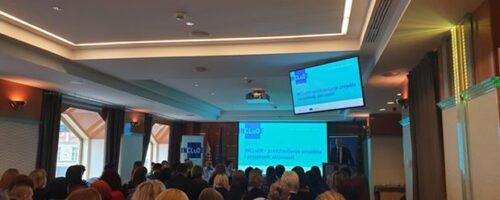 """Dr. sc. Sandra Cvikić na konferenciji """"INCLuDE Međuresorna suradnja u osnaživanju državljana trećih zemalja"""""""