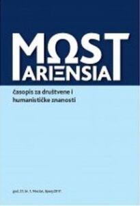 MOSTARIENSIA – časopis za društvene i humanističke znanosti