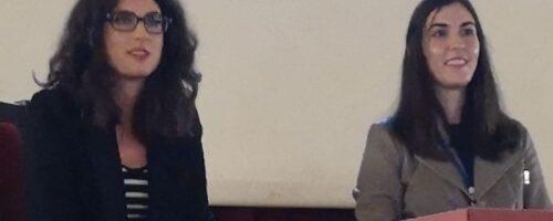 Stručne suradnice u znanosti Stephanie Stelko i Suzana Sakić na 13. nacionalnoj konferenciji o beskućništvu; Pula