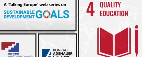 Talking Europe online: Sustainable Development Goal #4