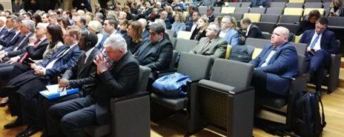 Dr. sc. Vinicije B. Lupis na konfereciji u povodu 40 godina upisa Dubrovnika i 10 godina upisa Feste na popise svjetske kulturne baštine