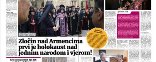 Dr. sc. Vinicije Lupis: Spomen na 105. obljetnicu armenskog genocida
