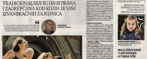 Dr. sc. Andreja Brajša-Žganec i dr. sc. Dražen Živić o braku u Hrvatskoj