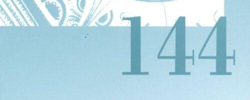 Objavljen 144. broj DRUŠTVENIH ISTRAŽIVANJA