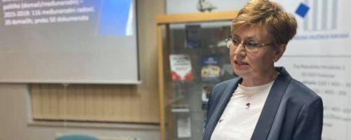 Dr. sc. Sandra Cvikić: Predavanje MIGRANTSKA KRIZA; Vukovar